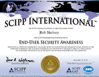 SCIPP International - End-User Security Awareness Certification