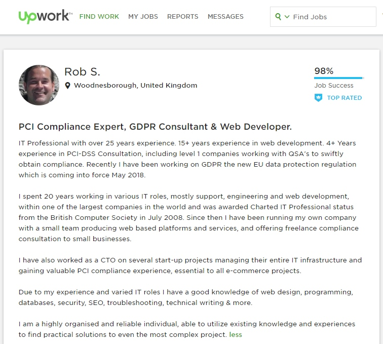 Click here to see my Upwork profile